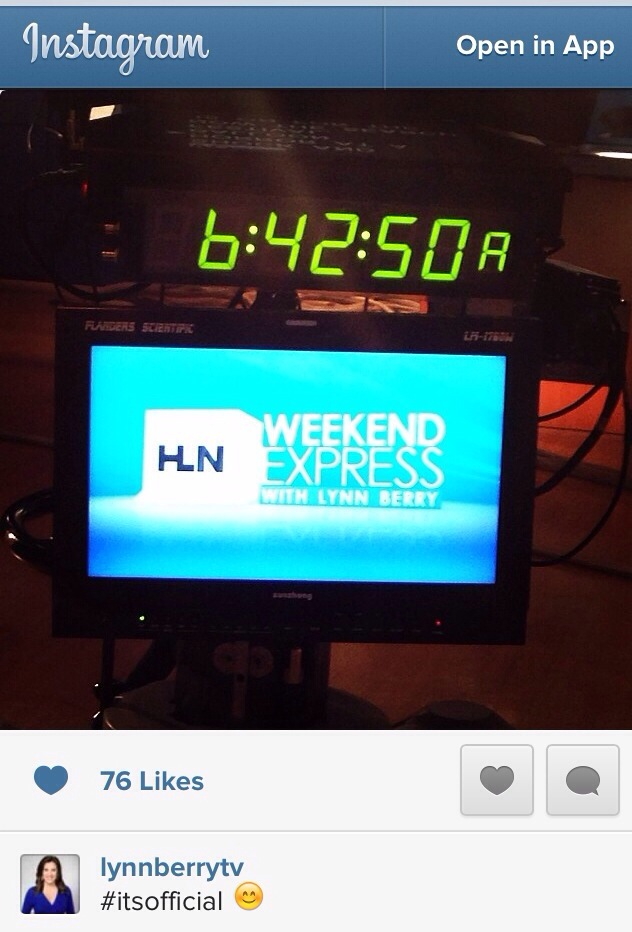 Weekend Express is Officially Lynn Berry's Show