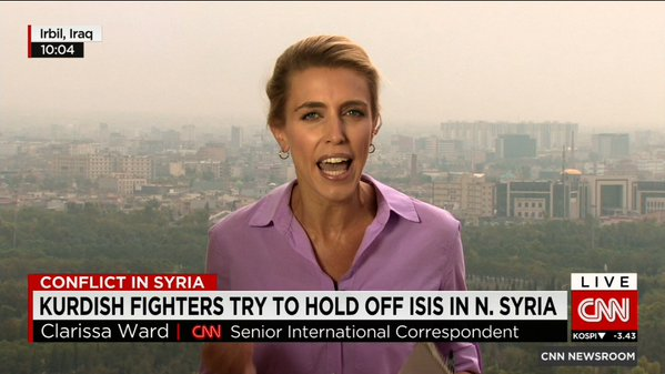 Clarissa Ward Returns To Syria For First Cnn Assignment Cnn Commentary