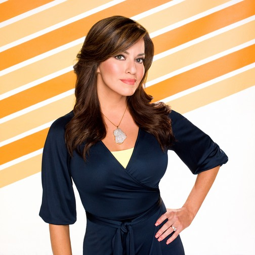 Robin Meade Spends Some Time Prepping In CNN NYC
