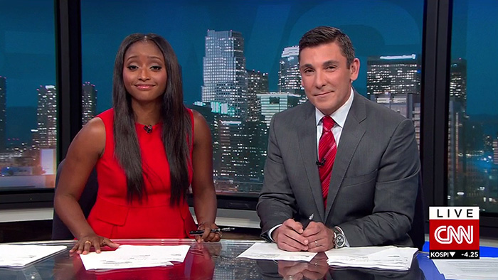 Following The Departure Of Overnight Anchor Errol Barnett To CBS News, CNN  Has Made The Decision To Expand CNN Newsroom Live From Los Angeles, ... Part 27