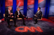 CNN Libertarian Town Hall at Time Warner Center in New York, hosted by Chris Cuomo.