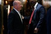 Jeff Zucker, president of CNN arrives to meet with U.S. President-elect Donald Trump at Trump Tower in Manhattan, New York