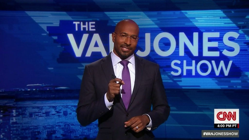 Image result for photo van jones on CNN